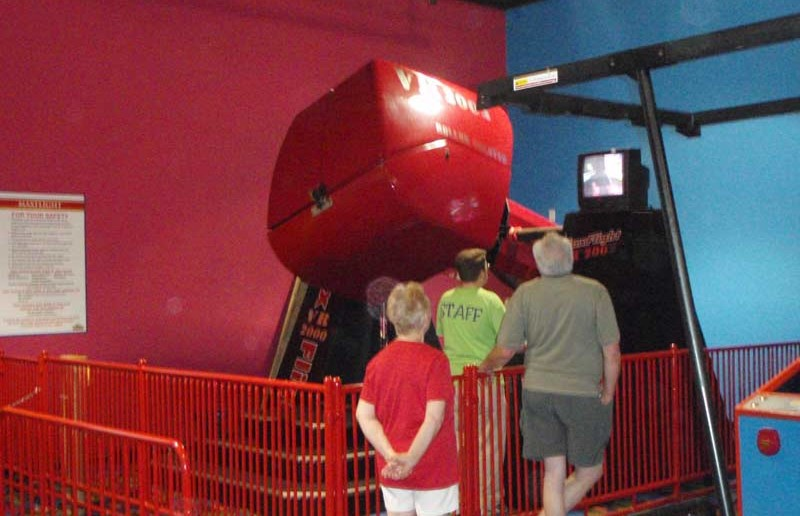 Max Flight Roller Coaster Simulator - Funopolis Family Fun Center